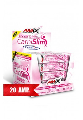AMIX CarniSlim Lipotropic 25ml 20 amp