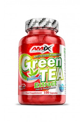 AMIX Green Tea Extract with Vitamin C 100 caps