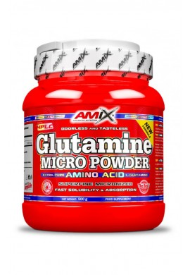 AMIX L-Glutamine Powder 500gr