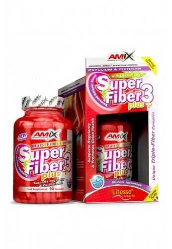 AMIX Super Fiber3 Plus 90 Caps.