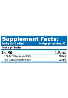 AMIX Super Omega3 Fish Oil 90 Softgels