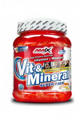 AMIX Super Vit-Mineral Pack 30 packs