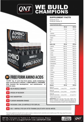 QNT Amino Boost 20x25ml