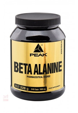 PEAK Beta Alanin 1000 mg 240 caps