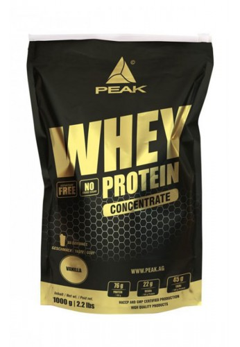 PEAK Whey Concentrate 1000g