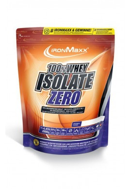 IronMaxx 100% WHEY ISOLATE ZERO 2000g.