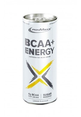 IronMax BCAA ENERGY CAN - 24бр. стек