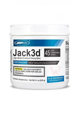 USP Labs Jack 3D Advanced Formula 250 gr