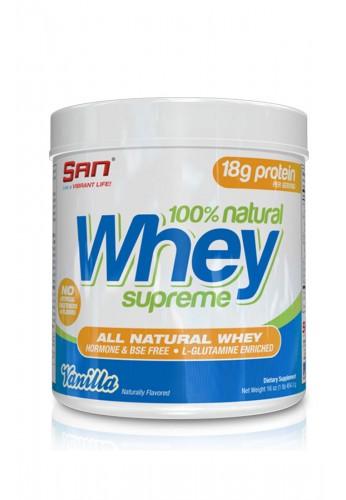 SAN 100% Natural Whey Supreme 454gr.