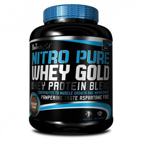 Biotech Nitro Pure Whey Gold 2270 gr