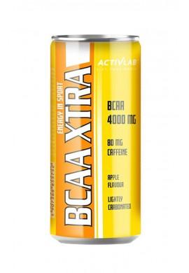 ACTIVLAB BCAA XTRA DRINK CAFFEIN CAN - стек 24бр. x250ml.