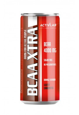 ACTIVLAB BCAA XTRA DRINK CAN - стек 24бр. x250ml.