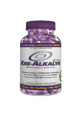 ALL american EFX Kre-alkalyn 750mg. 120caps.