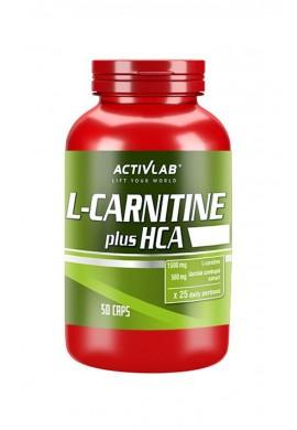 ACTIVLAB CARNITINE HCA PLUS 50caps.