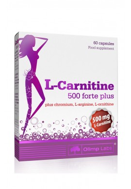 OLIMP L-Carnitine 500 forte plus - 60caps.