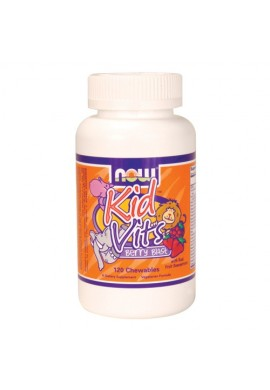 NOW Kid Vitamins 120tabs.
