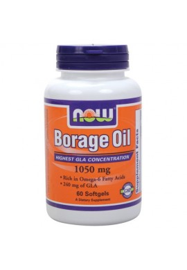 NOW Borage Oil 1500mg. 60caps.