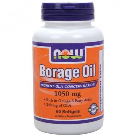 NOW Borage Oil 1500mg. 60caps.