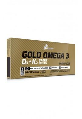 OLIMP Gold Omega 3 D3 + K2 60caps