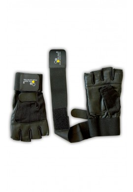 "OLIMP TRAINING GLOVES "" HARDCORE COMPETITION"" WRIST WRAP"