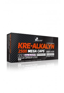 OLIMP Kre-Alkalyn 2500 Mega Caps - 120caps.