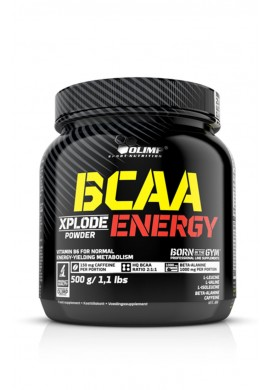 OLIMP BCAA Xplode powder Energy 500g.