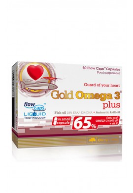 OLIMP Gold Omega-3 65 % 60caps.