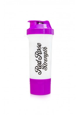 OLIMP LADY'S STRENGTH SHAKER RED ROSE PURPLE / WHITE 500ml.
