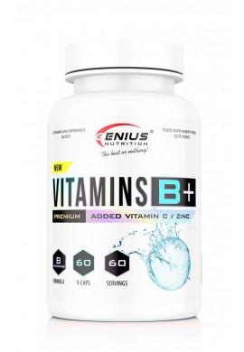 GENIUS Vitamins B+ (B-Complex) 60caps