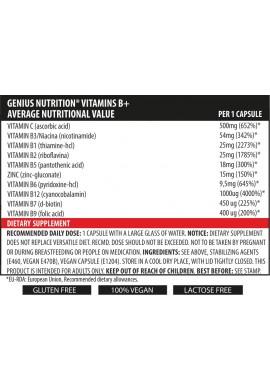 Vitamins B+ (B-Complex) 60caps