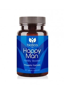 BIOTICA Happy Man 350mg / 60Caps.