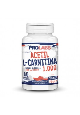 PROLABS ACETYL L-CARNITINE 1000 мг - 60 CAPSULES