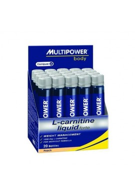 Multipower L-carnitine liquid forte 20ampoules