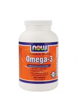 NOW Omega 3 1000mg. 500softgels