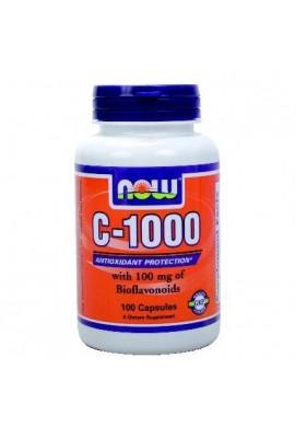 NOW Vitamin C 1000 100caps.