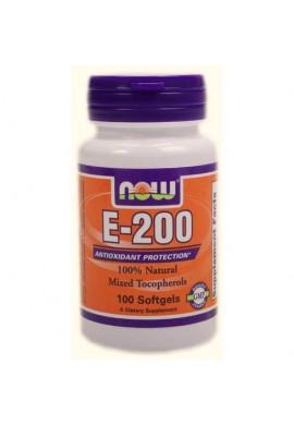 NOW Vitamin E-200 200IU MT 100softgels