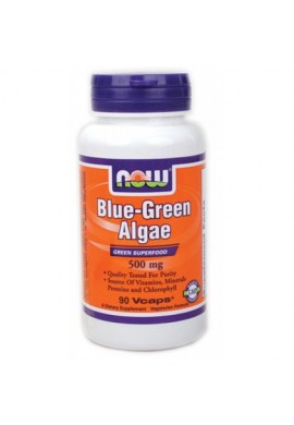 NOW Blue-Green Algae 500mg. 90caps.