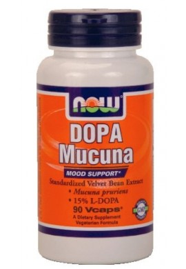 NOW Dopa Mucuna 90caps.