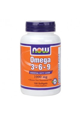 NOW Omega 3-6-9 1000mg. 100softgels