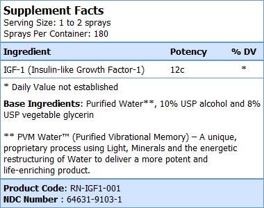 igh 1 growth factor-sf
