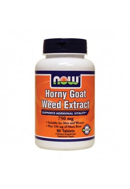NOW Horny Goat Weed Extract 750 mg 90 tabs