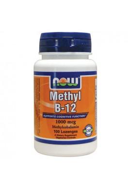 NOW Methyl B-12 1000 мкг - 100 дражета