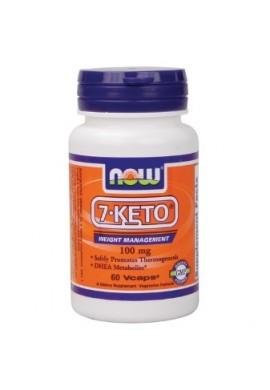 NOW 7-KETO 100 mg 60 caps