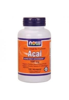 NOW Acai 500 mg 100 caps
