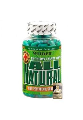 Weider All Natural 180caps.