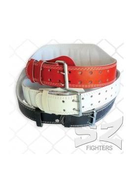SZ Fighters Фитнес Колан - Кожа 15 см