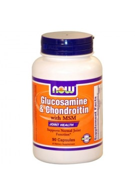 NOW Glucosamine/ Chondroitin/ MSM - 90caps