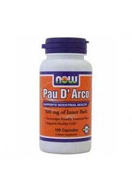 NOW Pau D'Arco 500 mg - 100 капсули