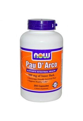 NOW Pau D'Arco 500 mg - 250 капсули