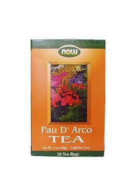 NOW Pau D'Arco Чай - 30 пакетчета